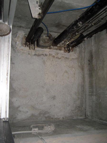 fosse ascensore per bloccare umidità