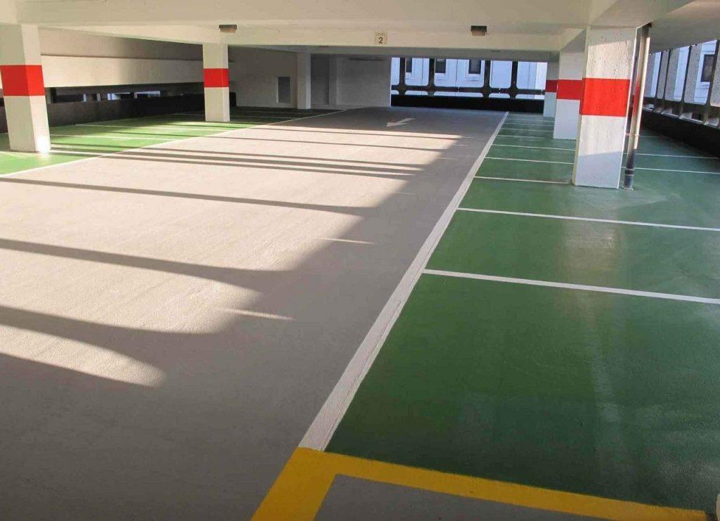 impermeabilizzazione parcheggi