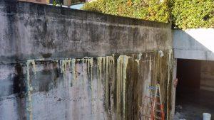 Iniezioni di resine muri controterra