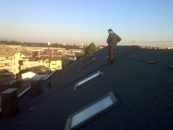 isolamento da acqua tetto